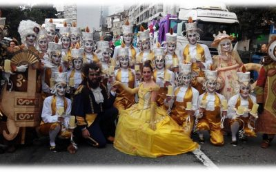 """COMPARSAS PARA DESFILES (Navidad, carnaval…): """"ANIMACIÓN NA RÚA"""""""