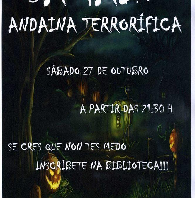 ANDAINA TERRORÍFICA