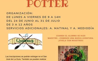 Campamento Colegio Plurilingüe San José de la Guía «Campamento Potter»