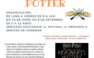 Campamento CEIP LAREDO «Campamento Potter»