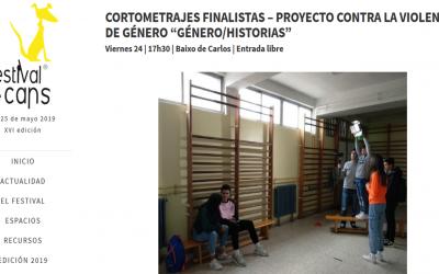 """Cortometrajes finalistas – Proyecto contra la violencia de género """"Xénero/Historias"""""""