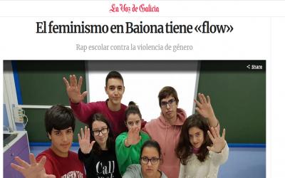 El feminismo en Baiona tiene «flow»