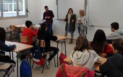 Soutomaior lleva la música rap a las aulas contra la violencia de género